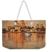 Palm Beach At Golden Hour Weekender Tote Bag