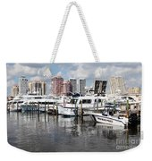 Palm Beach Docks Weekender Tote Bag
