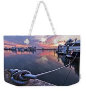 Palm Beach Harbor Weekender Tote Bag