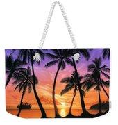 Palm Beach Sundown Weekender Tote Bag