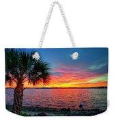 Palm Beach Sunset Weekender Tote Bag