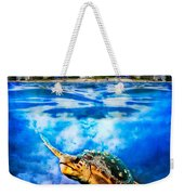 Palm Beach Under And Over Weekender Tote Bag