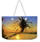 Palm Beauty Weekender Tote Bag