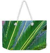 Palm Cycas Fronds Weekender Tote Bag