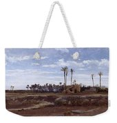 Palm Forest In Elche Weekender Tote Bag