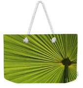 Palm Fron Abstract Weekender Tote Bag