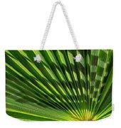 Palm Frond Weekender Tote Bag