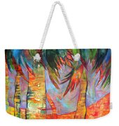 Palm Jungle Weekender Tote Bag