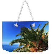 Palm Over The Sea Weekender Tote Bag