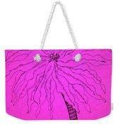 Palm Pink Weekender Tote Bag
