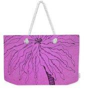 Palm Purple Weekender Tote Bag