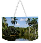 Palm Reflection And Shadow Weekender Tote Bag