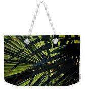 Palm Shadows Weekender Tote Bag