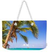 Palm Tree And Caribbean Weekender Tote Bag