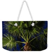 Palm Tree At Night Weekender Tote Bag