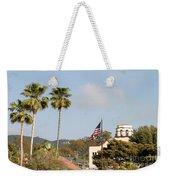 Palm Tree Flag Weekender Tote Bag
