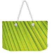 Palm Tree Leaf Abstract Weekender Tote Bag