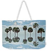 Palm Tree Reflection Weekender Tote Bag