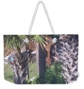 Palm Tree Scenery Weekender Tote Bag