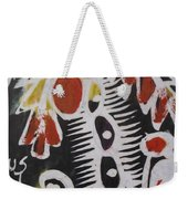 Palm Tree With Two Keg Of Palm Wine.  Weekender Tote Bag
