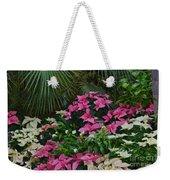 Palms And Flowers Weekender Tote Bag