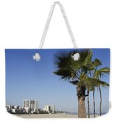 Palm Trees At Long Beach California Weekender Tote Bag