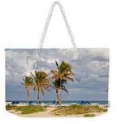 Palm Trees At The Beach Weekender Tote Bag