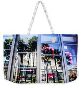 Palm Trees In Reflection Weekender Tote Bag