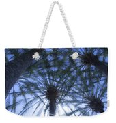 Palm Trees In The Sun Weekender Tote Bag