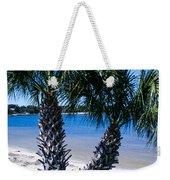 Palm Trees Of Gulf Breeze Weekender Tote Bag
