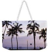 Palm Trees On The Beach, Waikiki Weekender Tote Bag