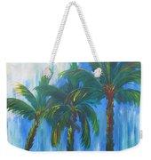 Palm Trio Weekender Tote Bag