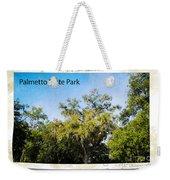Palmetto State Park Weekender Tote Bag