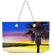 Palmetto Sunset Moon And Stars Weekender Tote Bag