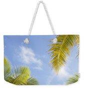 Palms And Sky Weekender Tote Bag