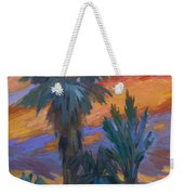 Palms And Sunset Weekender Tote Bag