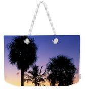 Palms At Sunrise Weekender Tote Bag