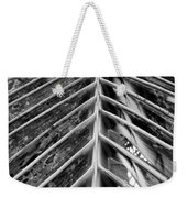 Palms E The Other Way In Black And White Weekender Tote Bag