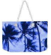 Palms In Storm Wind-bora Bora Tahiti Weekender Tote Bag