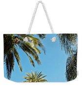 Palms In The Sky Weekender Tote Bag