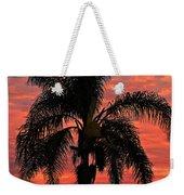 Palmtree Apocalypse Weekender Tote Bag