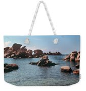 Palombaggia Beach And Rocks, Corsica Weekender Tote Bag
