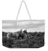 Palomino - Buttes - Wild Horses - Bw Weekender Tote Bag