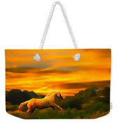 Palomino Pal At Sundown Weekender Tote Bag