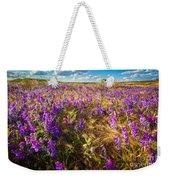 Palouse Falls Wildflowers Weekender Tote Bag