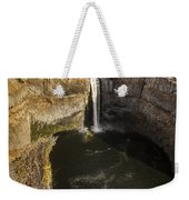 Palouse Falls With Rainbow Weekender Tote Bag