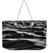 Palouse In Black And White Weekender Tote Bag