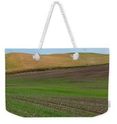 Palouse Patchwork 3 Weekender Tote Bag