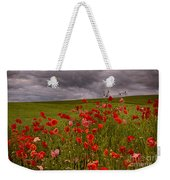 Palouse Poppies Weekender Tote Bag