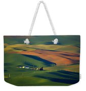 Palouse - Washington - Farms - 1 Weekender Tote Bag by Nikolyn McDonald